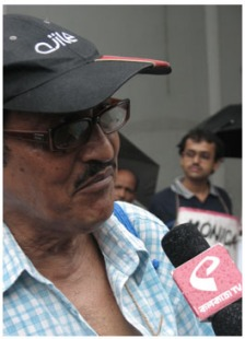 Probir Ghosh with Kolkata TV